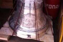 колокол 130 кг Свято -Никольский мужской монастырь г. Гомель 20,01,2018