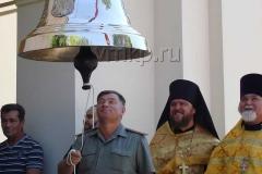 Освящение благовеста 270 кг в Архангельской области