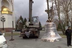 Благовест 400 кг на Мамаевом кургане, храм Всех Святых (г.Волгоград)