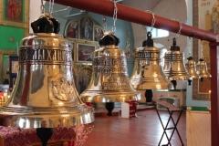 колокола для  Свято-Троицкий храма п. Орехово Курская обл 2015