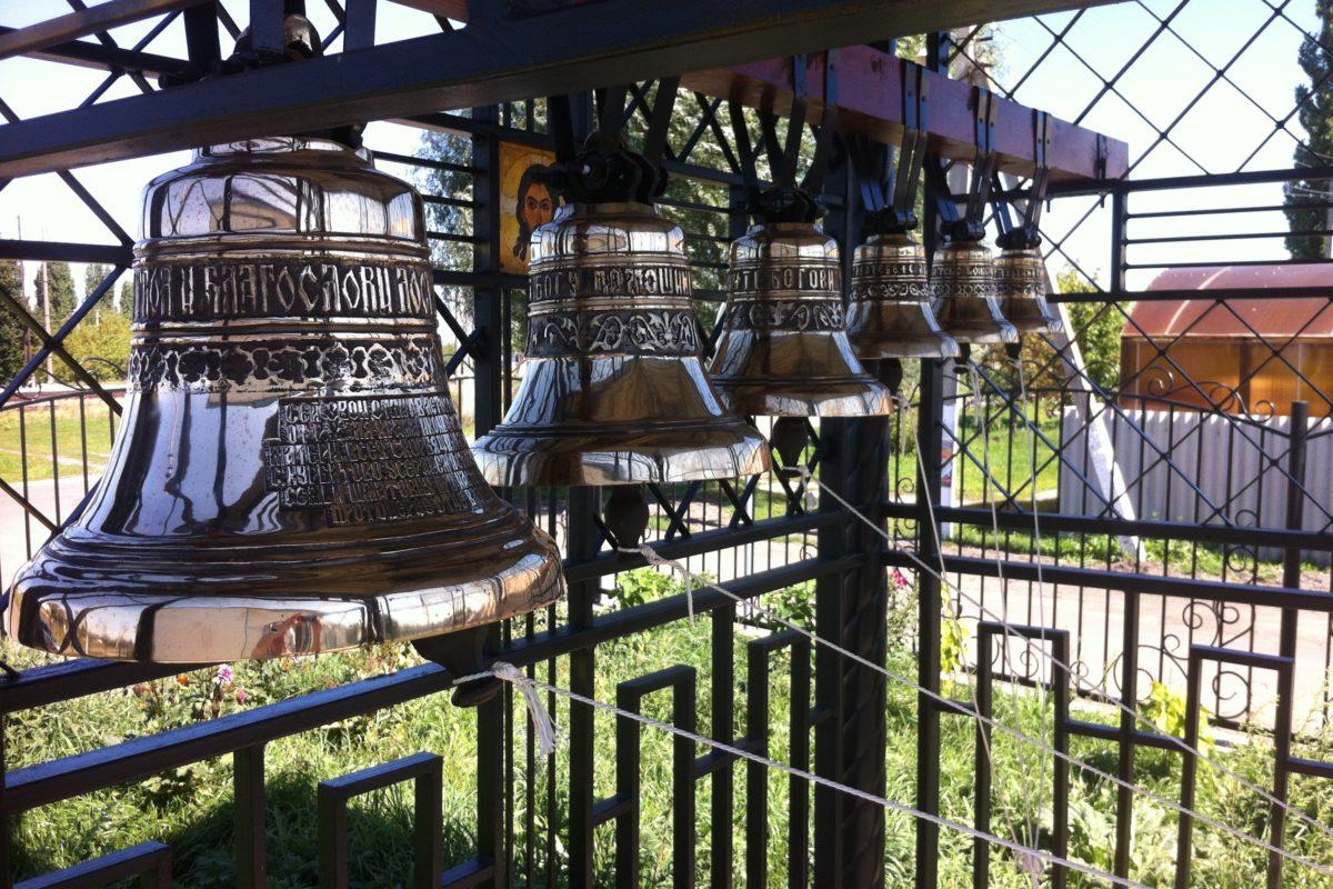 Набор колоколов из 6 шт